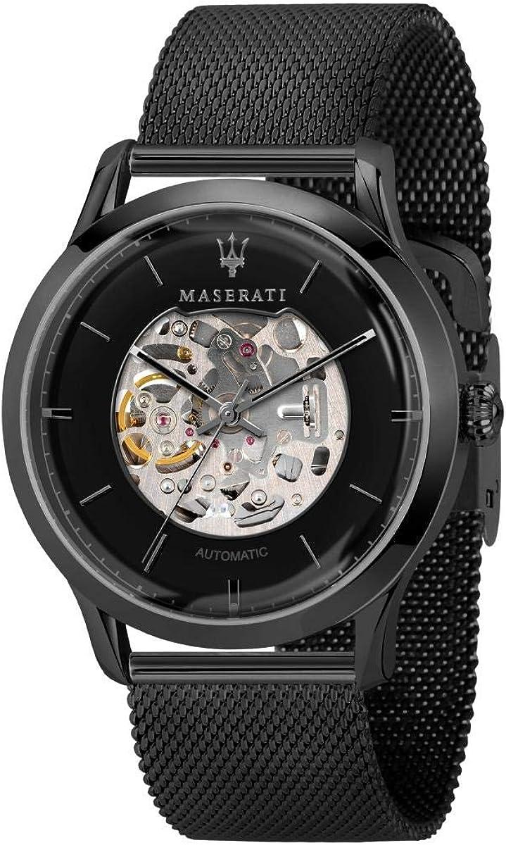 Reloj para Hombre, Colección RICORDO, en Acero, PVD Negro - R8823133002