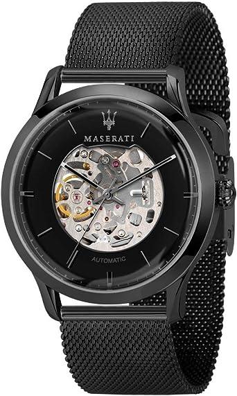 Orologio da uomo, Collezione RICORDO, in acciaio, PVD nero R8823133002