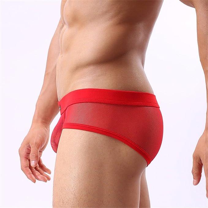 9e7d4b5512ea Nuevo YCZH Thong sexy hombres suave Bikini Tanga suspensor Underwear ...