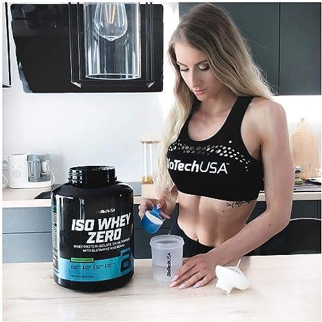 BioTechUSA Iso Whey ZERO, Lactose, Gluten, Sugar FREE, Whey Protein Isolate, 2.27 kg, Chocolate
