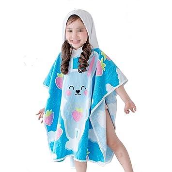 Toalla de natación de playa de secado rápido Toalla de baño con capucha para niños, ...