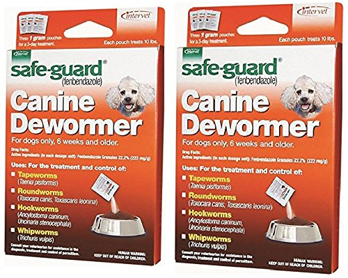 8 in 1 Safe Guard Canine Dewormer (3 Pouches)