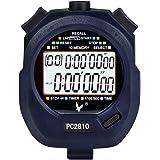 Cronometro Digital, Cronómetros Deportivo, Temporizador con 2 filas de 10 Memoria Tiempo Alarma