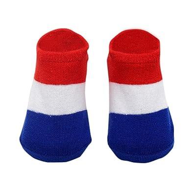 df04186c3 Suit for 0-4 Years old Baby,DIGOOD Boys Girls Flag Print Elastic Anti-Slip  Warm Socks