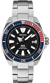 9a84a03f694 Seiko Men s Prospex Special PADI Edition Samurai Black Dial Stainless Steel  Bracelet Watch - Model