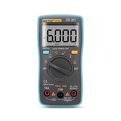 Digital Multimeter Auto Ranging Pocket Digital Multimeter Digital