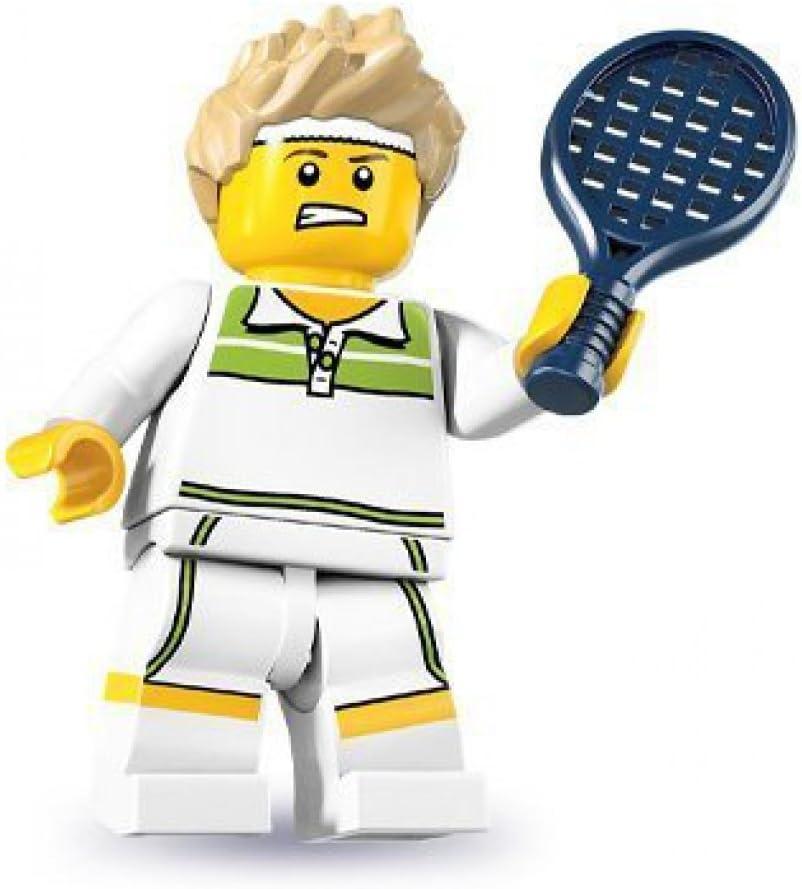 Lego - Mini Figures - Serie 7 - Tennis Ace: Amazon.es: Juguetes y ...