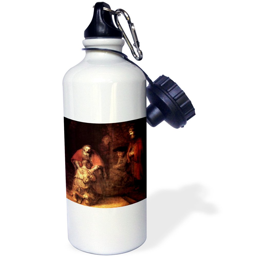 wb/_203899/_1 21oz 3dRose Print of The Hebrew Alphabet-Sports Water Bottle 21 oz Multicolored