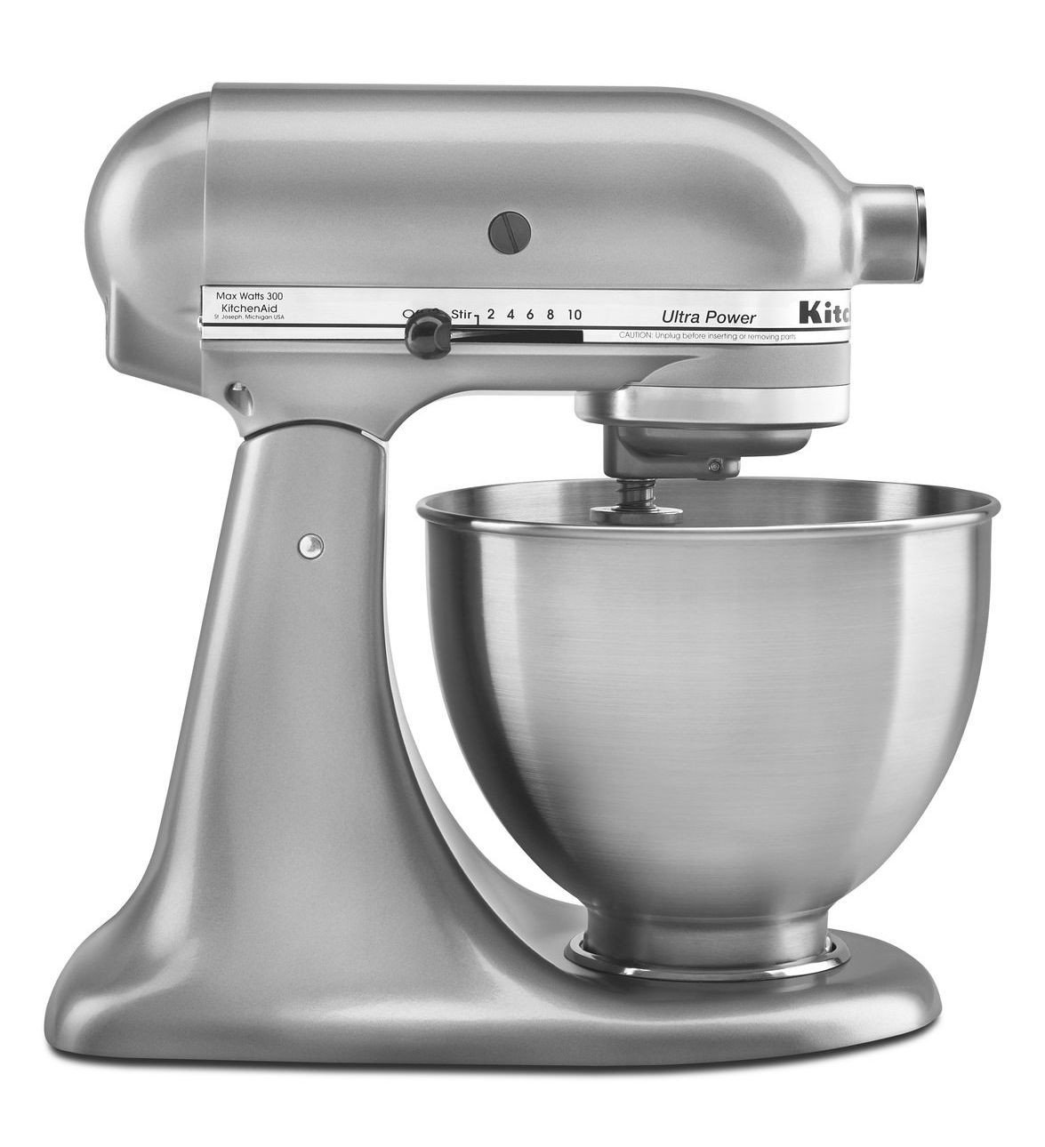 New Made USA Kitchenaid Ultra Power Ksm95cu 10speed Stand Mixer 4.5-quart Silver One Day Shipping Good Gift Fast Shipping by KitchenAid