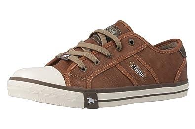 Mustang Herren Sneaker Grau, Schuhgröße:EUR 40