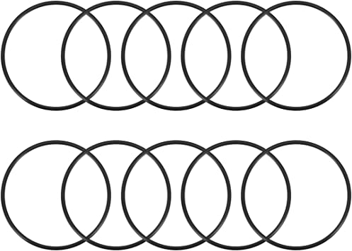 10pcs O-Rings Nitrile Rubber 45mm-70mm OD 2mm Width Seal Rings Sealing Gasket