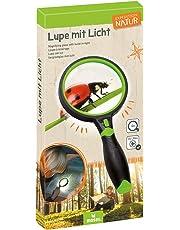 Moses 9698 Lupe mit Licht Expedition Natur | 4-fache Vergrößerung | Für Kinder