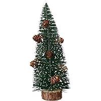 CFPacrobaticS Mini árbol De Navidad Artificial con Cono