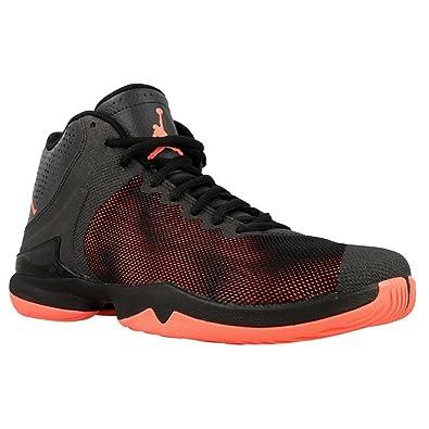 Nike Jordan Super.Fly 4 Po, Chaussures de Sport-Basketball Homme, Noir