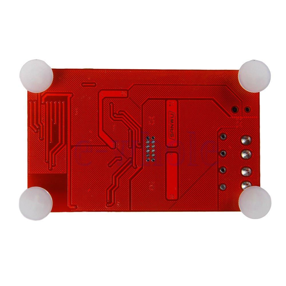 Red 50W TDA7492P 2x50 Watt Dual Channel Amplifier Wireless Digital Bluetooth 4.0 Audio Receiver Amplifier Board HiLetgo 50W