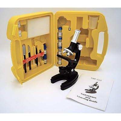 APOLLO Microscope Entry Level with Case 1200x Power: Toys & Games