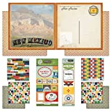 Scrapbook Customs Themed Paper and Stickers Scrapbook Kit, New Mexico Vintage by Scrapbook Customs, Inc.