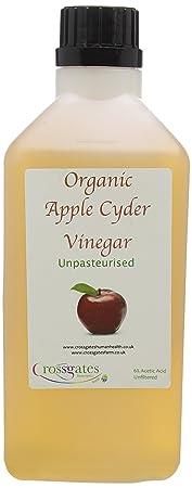Crossgates ganador de premio Apple sidra vinagre 1 Ltr, Raw ...