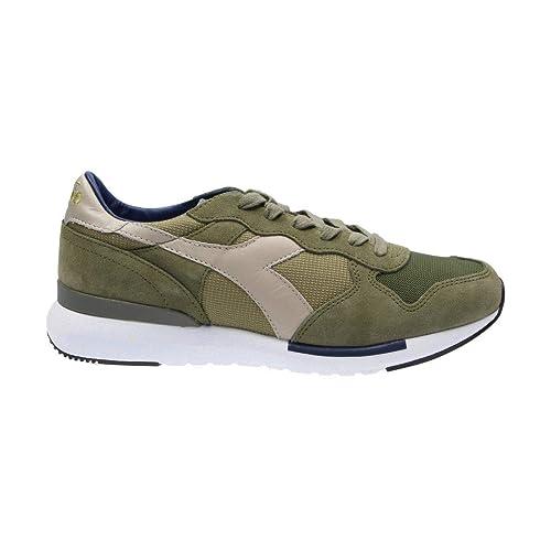 ad689da9a62 Diadora Heritage Hombre 171864 Verde Poliéster Zapatillas  Amazon.es   Zapatos y complementos