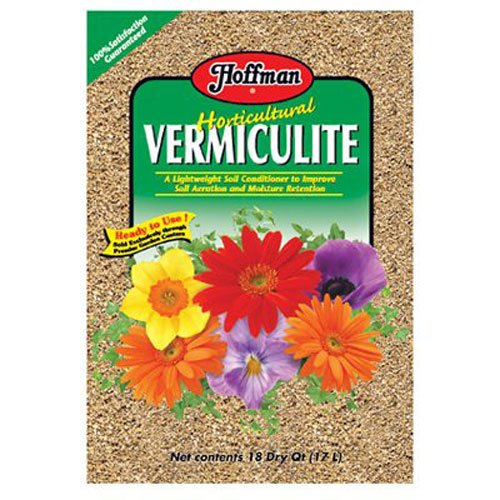 Hoffman 16004 Soils and Ammendments Horticultural Vermiculite, 18 Quarts