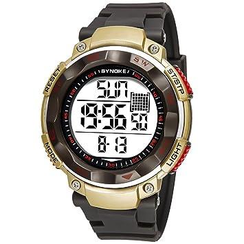 Limpieza de relojes deportivos para hombre. Beautytop - Reloj deportivo para hombre, multifuncional,
