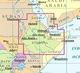 Ethiopia & Eritrea, Djibouti, Somaliland 1:2,000,000 Travel Map GIZI, 2011 edition