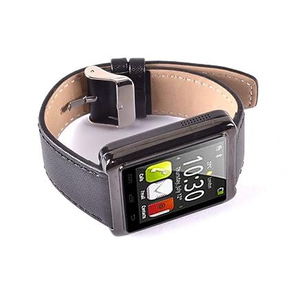 Amazon.com: Olatec U Watch U10 (Black) Waterproof Bluetooth ...