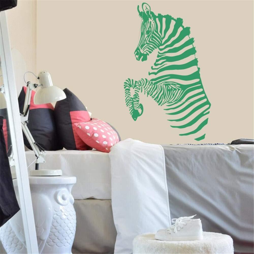 Tatuajes de pared rayas de cebra safari africano etiqueta de ...