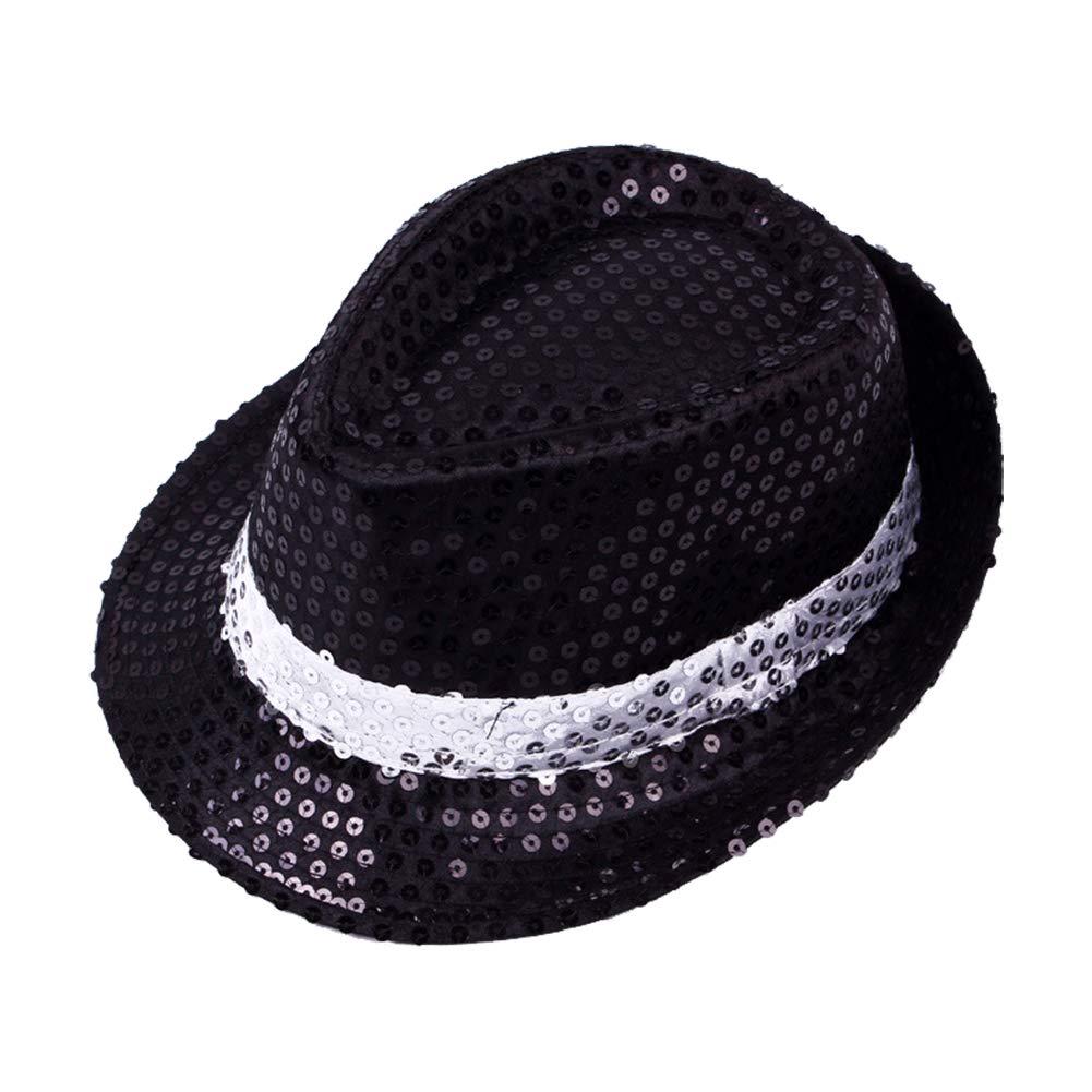 Gysad 1 Pz Cappello da Regalo con Paillettes Cappello da Genitore-Bambino Cappello da Ballo per Bambini Cappello da Ballo per Bambini