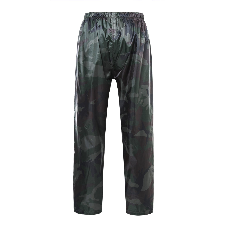 Ynport Crefreak mimetica con cappuccio impermeabile unisex per attivit/à allaperto giacca antipioggia a poncho