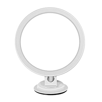 Bidafun Daylight LED 7X Magnifying Makeup Mirror   6 0 quot  Large Lighted  Travel Vanity Mirror  Amazon com  Bidafun Daylight LED 7X Magnifying Makeup Mirror   6 0  . Large Lighted Vanity Mirror. Home Design Ideas