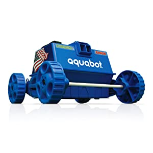 Aquabot APRVJR Pool Rover Junior Robotic Above-Ground Pool Cleaner