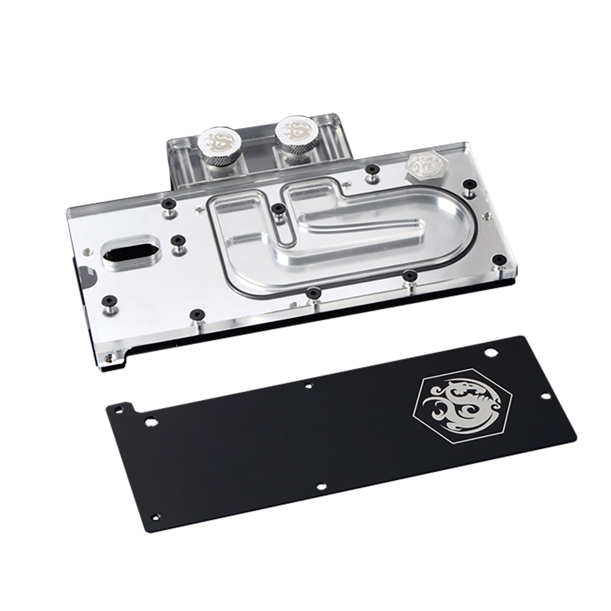 Bitspower PCI-E SSD Waterblock V2 for Intel Solid-State Drive 750 Series, Clear Acrylic by Bitspower