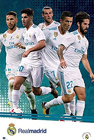 Amazon.com: Real Madrid – Fútbol/Deporte Cartel (la parada ...