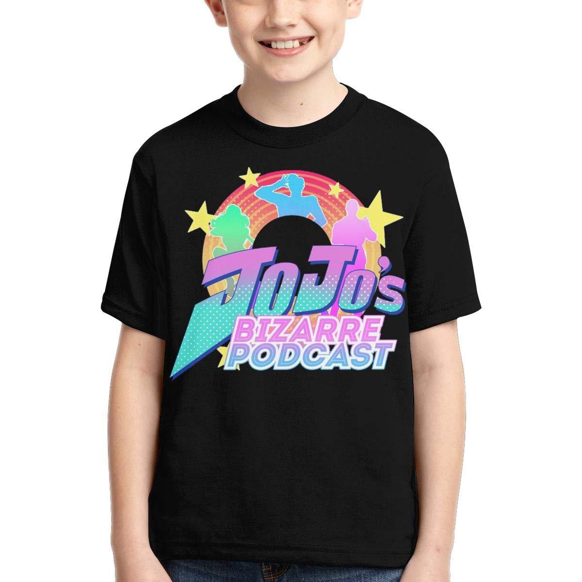 Zengqinglove Boys,Girls,Youth JoJos Bizarre Adventure T Shirt