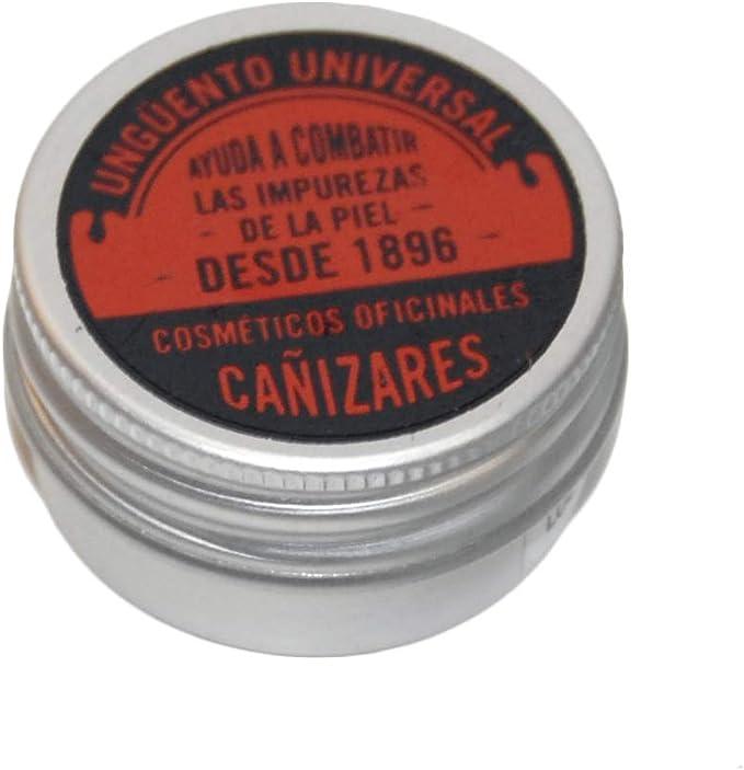 Ungüento universal Cañizares - Ayuda a combatir las impurezas de la piel: acné, golondrinos, forúnculos, fístulas, úlceras y pelos enquistados, 15 ml: Amazon.es: Salud y cuidado personal