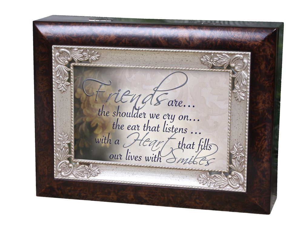 Cottage Garden Italian Inspired Music Box - Friends Plays That's What Friends are for
