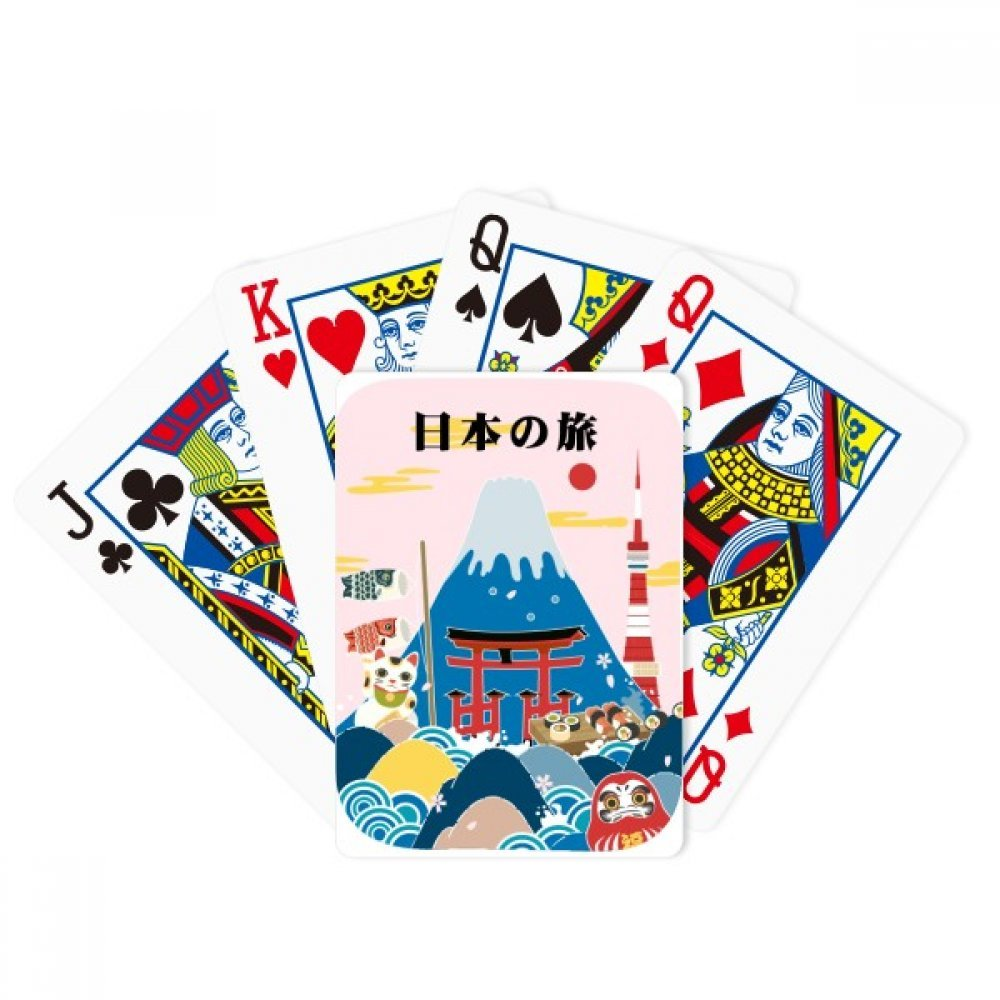 beatChong Local Japanese Travel Sightseeing Poker Playing Card Tabletop Board Game Gift by beatChong