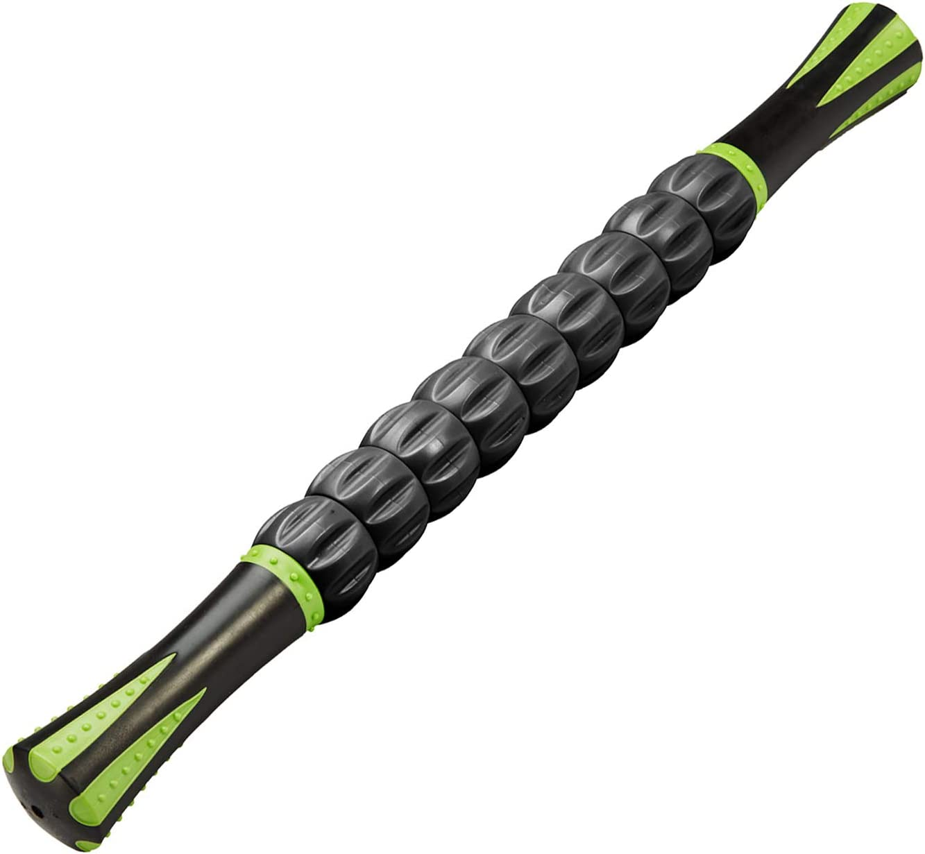 REEHUT Muscle Roller Massage Stick Tool for Athletes, 18 Inches Muscle Roller for Relieving Muscle Soreness, Soothing Cramps, Massage, Physical Therapy & Body Recovery Black: Sports & Outdoors