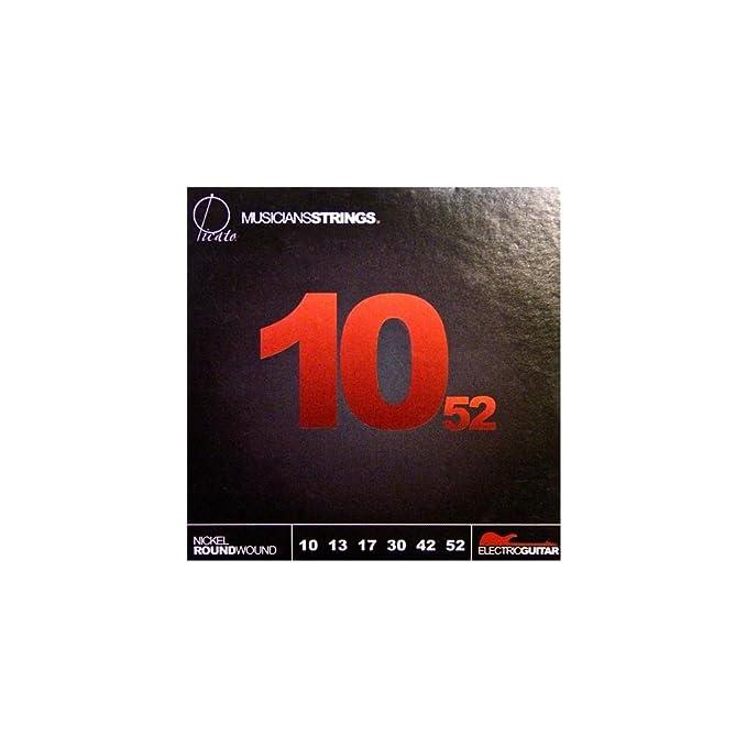 Picato 1052 cuerdas para guitarra eléctrica: Amazon.es: Instrumentos musicales