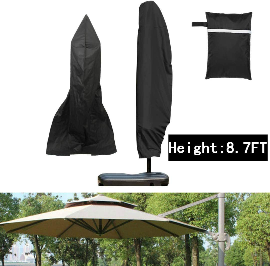 3 Sizes Parasol Banana Umbrella Cover Cantilever Outdoor Garden Patio Shield UK