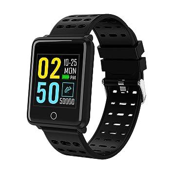 Tianya M19 - Pulsera inteligente con pulsómetro, presión arterial y rastreador de fitness, Negro: Amazon.es: Bricolaje y herramientas