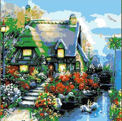 Pack of 20[WOODEN FRAMED] Diy Oil Painting, paint By Number- Love Angel 16*20 inch