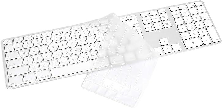 ProElife - Carcasa para teclado numérico de Apple iMac con cable USB A1243 (no compatible con teclado mágico), color transparente