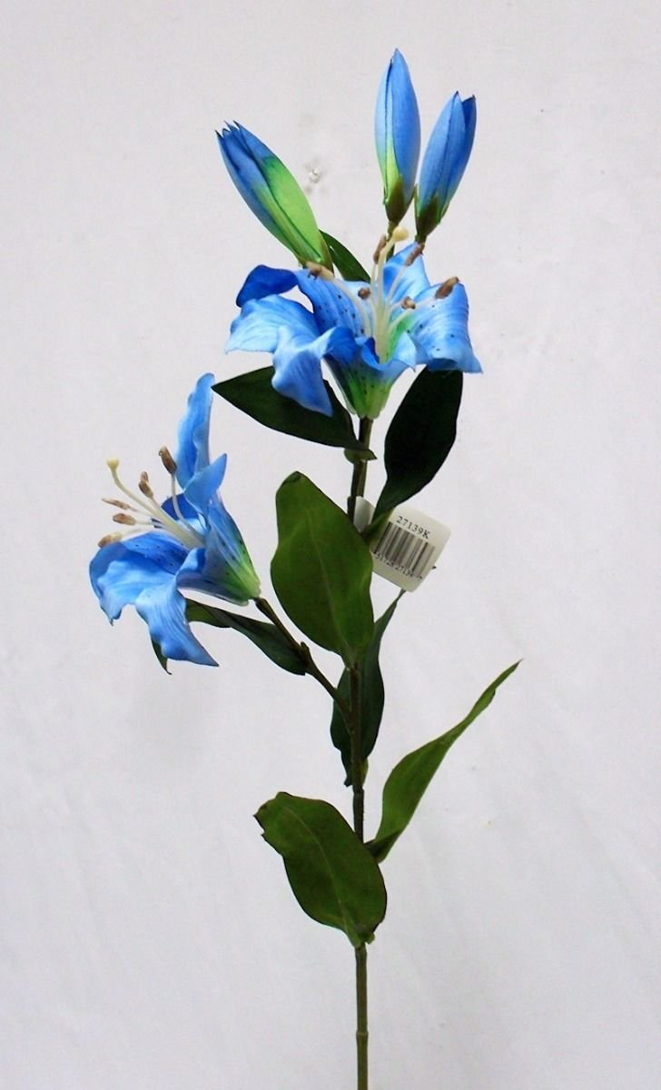 1-Bouquet-Artificial-Flowers-Turquoise-Blue-Tiger-Lily-Spray-Silk-Flowers-Wedding-Centerpieces-Arrangements-Artificial-Plant-Fake-Craft-Floral-Home-Decor-28-inches