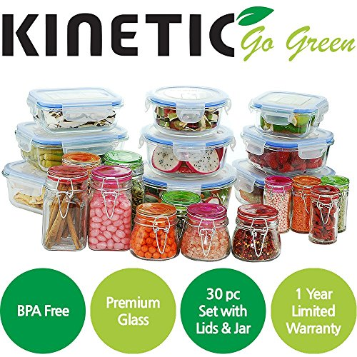 10oz clear plastic jars - 8