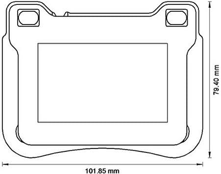 Jurid 573177J Brake Pad Set