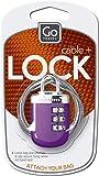 Go-Travel Link Luggage Locks, Gray, 891