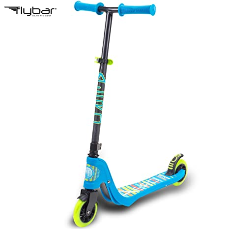 code promo 574b0 120c6 Flybar Aero Micro Kick Scooter for Kids, Pro Design with 2 Light Up LED  Wheels, Adjustable Handles