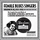 Female Blues Singers, Vol. 9: H2 by Various Artists (1997-03-18)